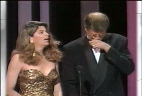 Emmy Highlights Kirstie Alley Amp Ted Danson Television