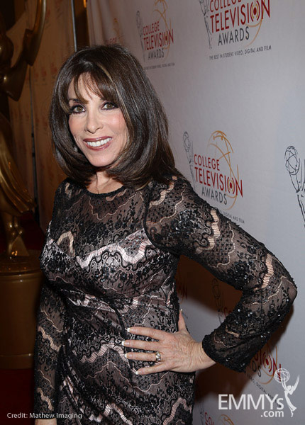 Kate Linder at the 32nd College Television Awards