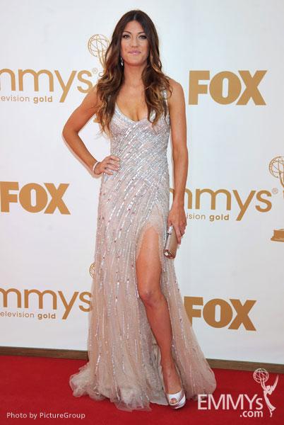 Jennifer Carpenter arrives at the Academy of Television Arts & Sciences 63rd Primetime Emmy Awards