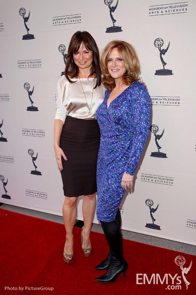 Mary Lynn Rajskub & Carol Leifer at Ladies Who Make Us Laugh