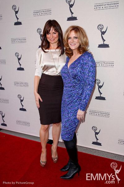 Mary Lynn Rajskub & Carol Leifer at Ladies Who Make Us Laugh