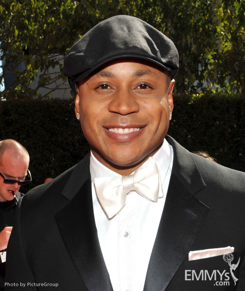 LL Cool J arrives at the Academy of Television Arts & Sciences 63rd Primetime Emmy Awards at Nokia Theatre L.A. Live