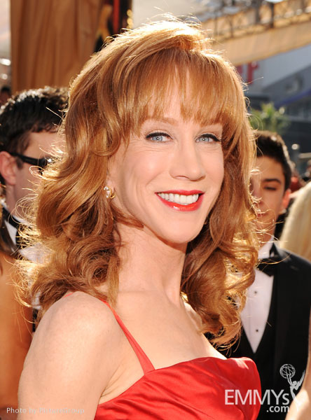 PG2_0317Kathy Griffin arrives at the Academy of Television Arts & Sciences 63rd Primetime Emmy Awards at Nokia Theatre L.A. Live