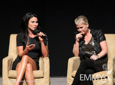 Nadia Bjorlin and Alison Sweeney at the 45 Years Of Days ...