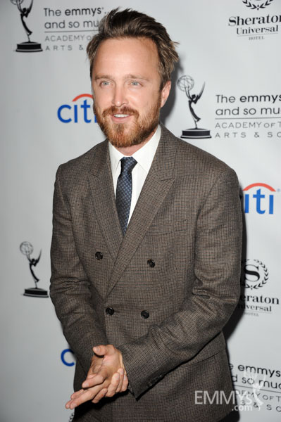 Aaron Paul at the 2013 Performers Emmy Celebration