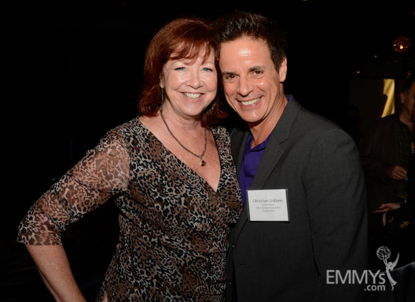 Patricia Bethune and Christian LeBlanc at the 2013 Performers Emmy Celebration