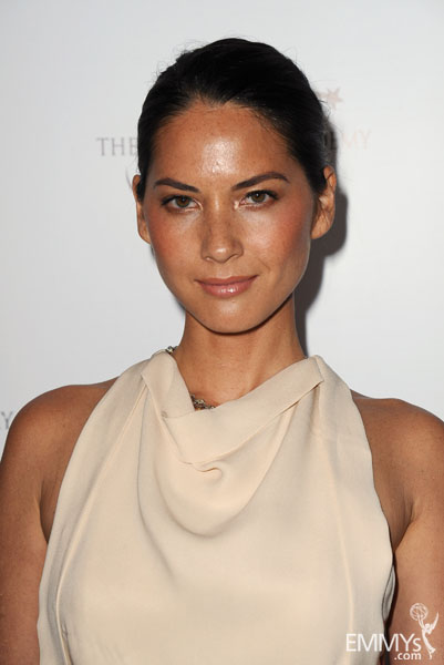 Olivia Munn arrives at the Sixth Television Academy Honors held at the Beverly Hills Hotel.