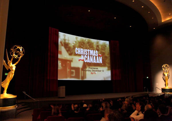 "Hallmark Channel's ""Christmas in Canaan"" premieres at the Television Academy's Goldenson Theatre"