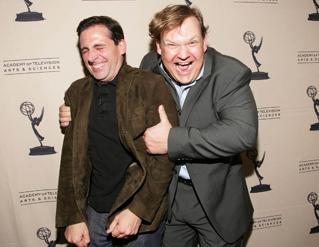 The Office - Steve Carell and Andy Richter