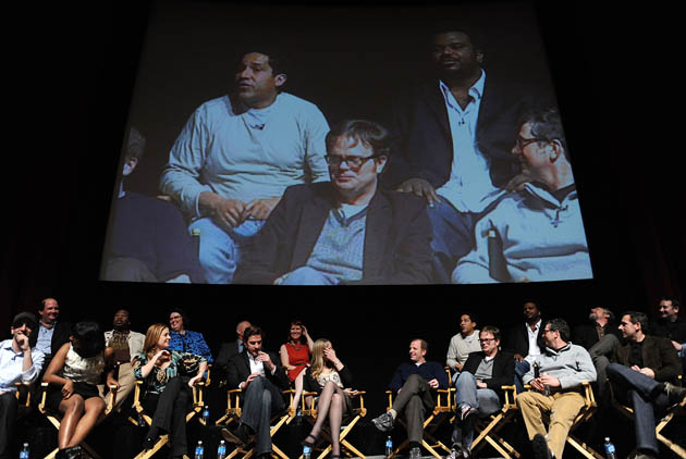 The Office - the cast onstage at An Evening With The Office