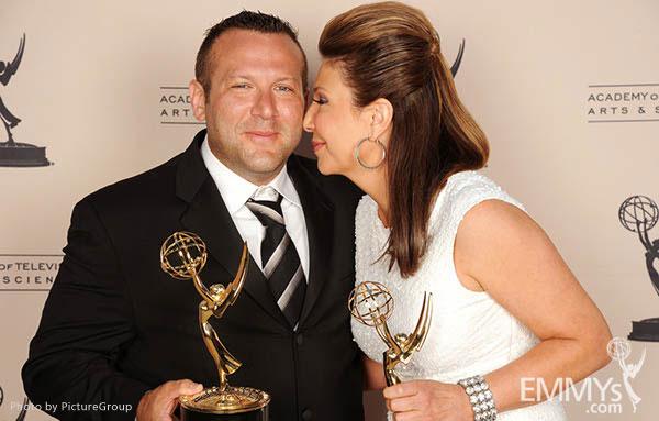 Fred Mamoun, Ana Garcia at the LA Area Regional Emmys