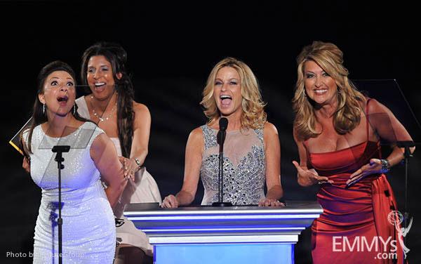 Ana Garcia, Christine Devine, Dorothy Lucey, Wendy Burch at the LA Area Regional Emmys