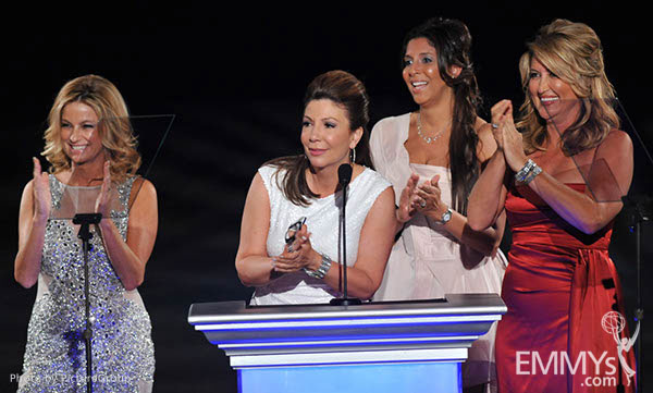 Dorothy Lucey, Ana Garcia, Christine Devine, Wendy Burch at the LA Area Regional Emmys