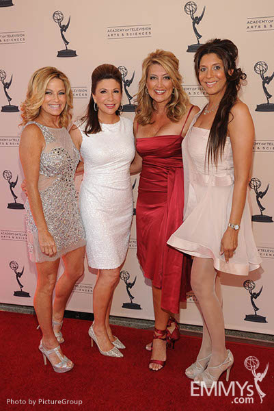 Dorothy Lucey, Ana Garcia, Wendy Burch, Christine Devine at the LA Area Regional Emmys