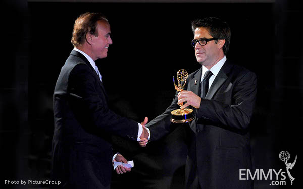 David Goldstein, Greg Taylor at the LA Area Regional Emmys