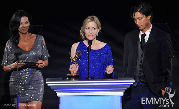 Julee Metz, Eric Michael Wong at the LA Area Regional Emmys