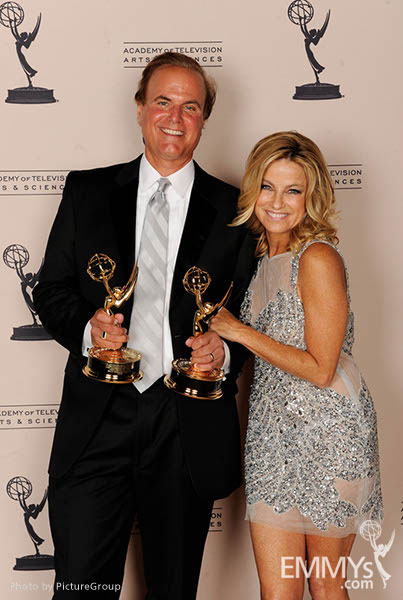 David Goldstein, Dorothy Lucey at the LA Area Regional Emmys