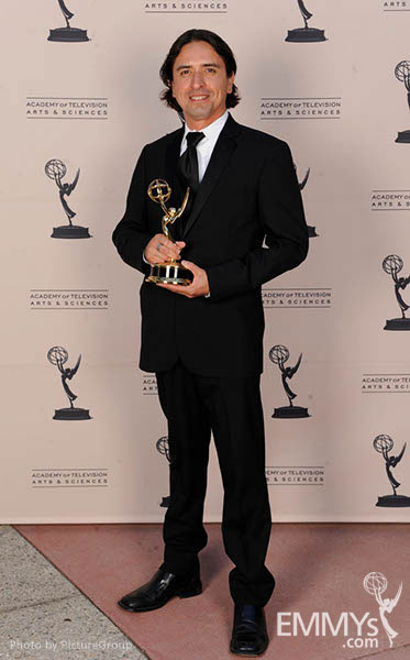 Arturo Quezada at the LA Area Regional Emmys