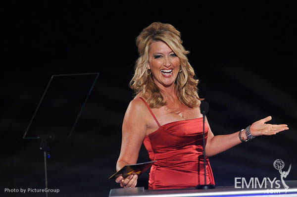 Wendy Burch at the LA Area Regional Emmys