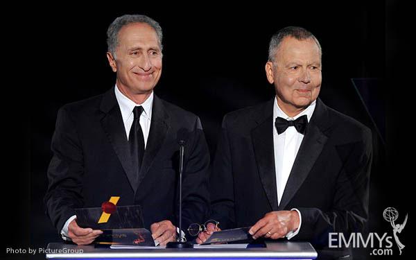 Ralph Saltzman, Stephen Solomon at the LA Area Regional Emmys