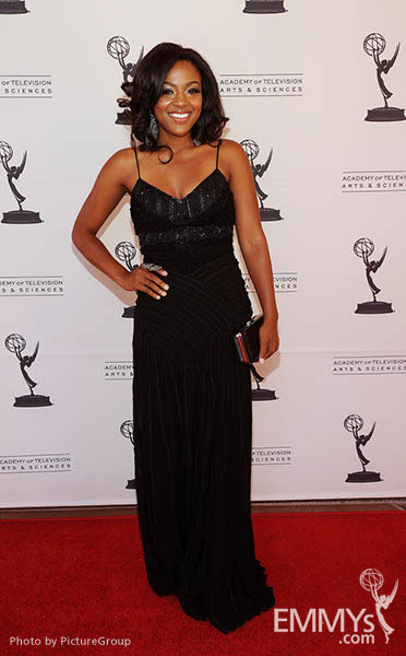 Courtney Jones at the LA Area Regional Emmys