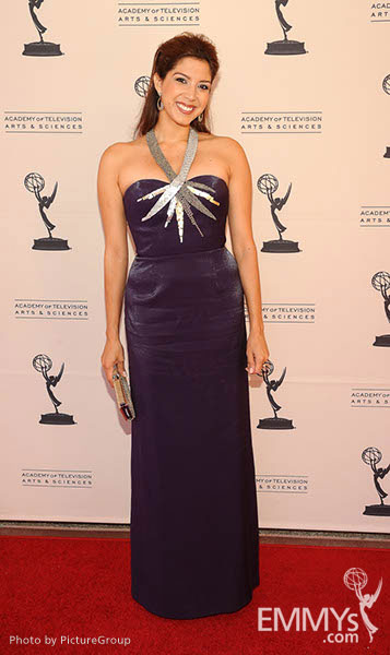 Viviana Vigil at the LA Area Regional Emmys