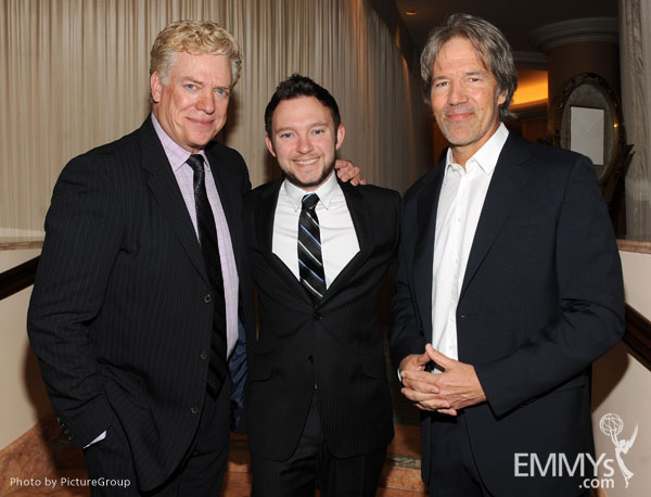 Christopher McDonald, Nathan Corddry and David E. Kelley attend the 5th Annual Television Academy Honors