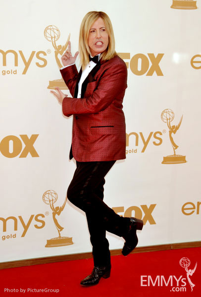 Steven Cojocaru arrives at the Academy of Television Arts & Sciences 63rd Primetime Emmy Awards at Nokia Theatre L.A. Live