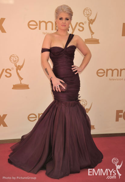 Kelly Osbourne arrives at the Academy of Television Arts & Sciences 63rd Primetime Emmy Awards at Nokia Theatre L.A. Live