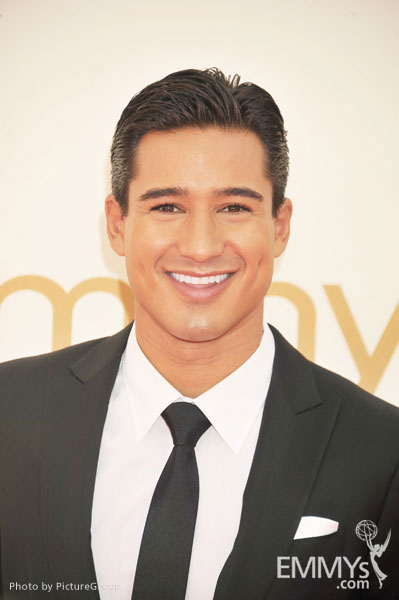 Mario Lopez arrives at the Academy of Television Arts & Sciences 63rd Primetime Emmy Awards at Nokia Theatre L.A. Live