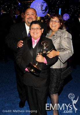 Actor Rico Rodriguez C Father Roy And Mother Diane