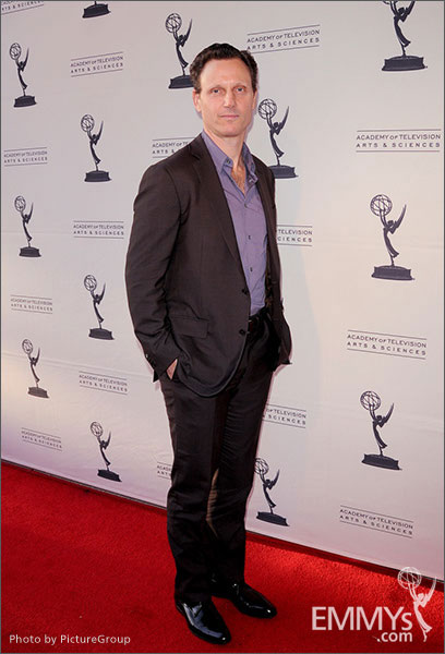 Tony Goldwyn arrives at Welcome to Shondaland