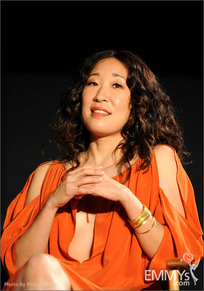 Sandra Oh participates in Welcome to Shondaland