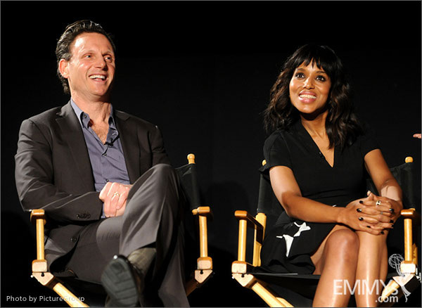 Tony Goldwyn and Kerry Washington participate in Welcome to Shondaland
