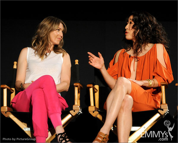 Sandra Oh and ellen pompeo interview