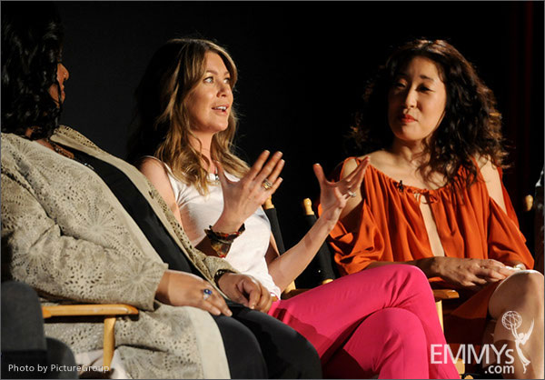 Shonda Rhimes, Ellen Pompeo and Sandra Oh participate in Welcome to Shondaland