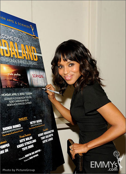 Kerry Washington attends Welcome to Shondaland