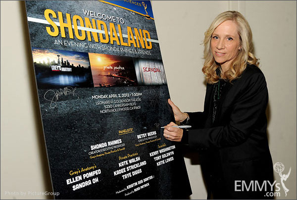 Betsy Beers attends Welcome to Shondaland