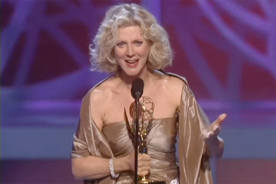 Blythe Danner  won 2005 Emmy Award for Supporting Actress in a Drama Series Huff