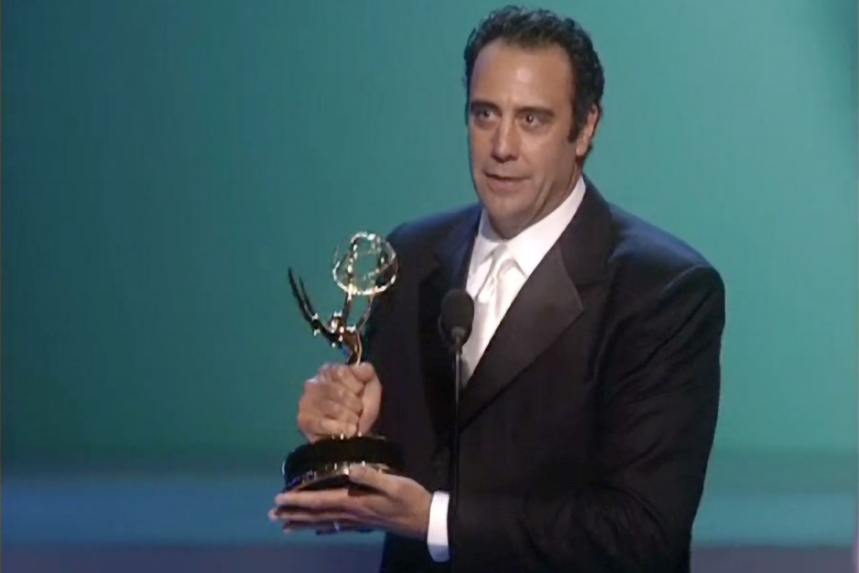 Brad Garrett accepts the Emmy for Supporting Actor in a ...Brad Garrett Imdb