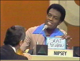Nipsey Russell on match game