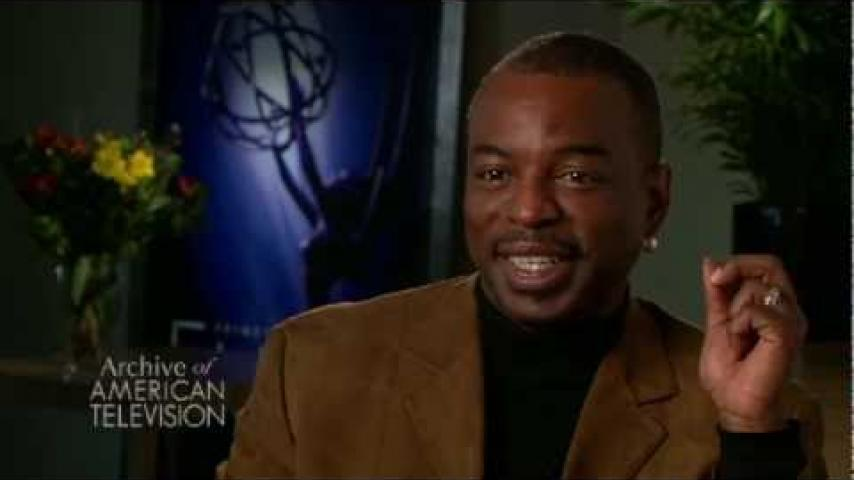 Embedded thumbnail for LeVar Burton on getting cast on Star Trek: The Next Generation