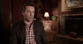 "Embedded thumbnail for Jon Hamm on what he likes about acting - ""you get paid to play"""