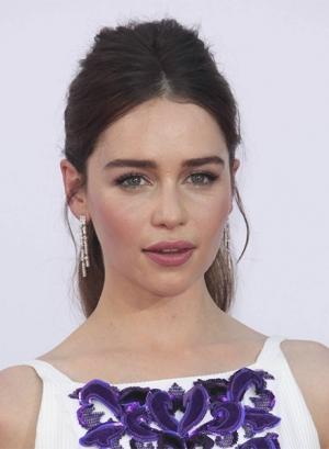 Emilia Clarke eyebrow video
