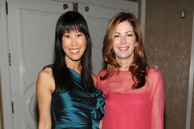 Dana Delany and Laura Ling attend the 5th Annual Television Academy Honors