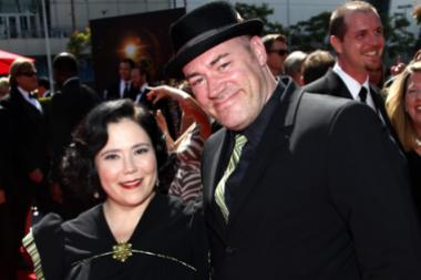 Alex Borstein and Jackson Douglas on the Red Carpet at the 65th Creative Arts Emmys