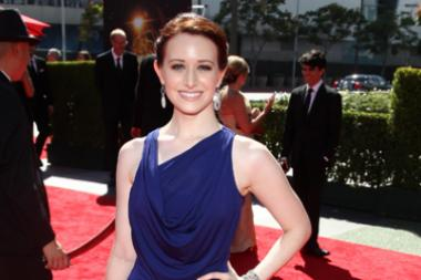 Ashley Clements on the Red Carpet at the 65th Creative Arts Emmys