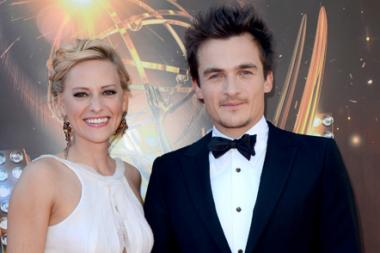 Rupert Friend on the Red Carpet at the 65th Creative Arts Emmys