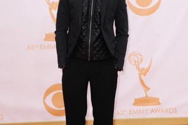 Asher Monroe on the Red Carpet at the 65th Emmys