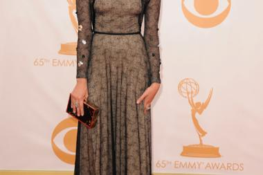 Aubrey Plaza on the Red Carpet at the 65th Emmys